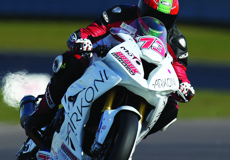 Brook back in action at Donington Park