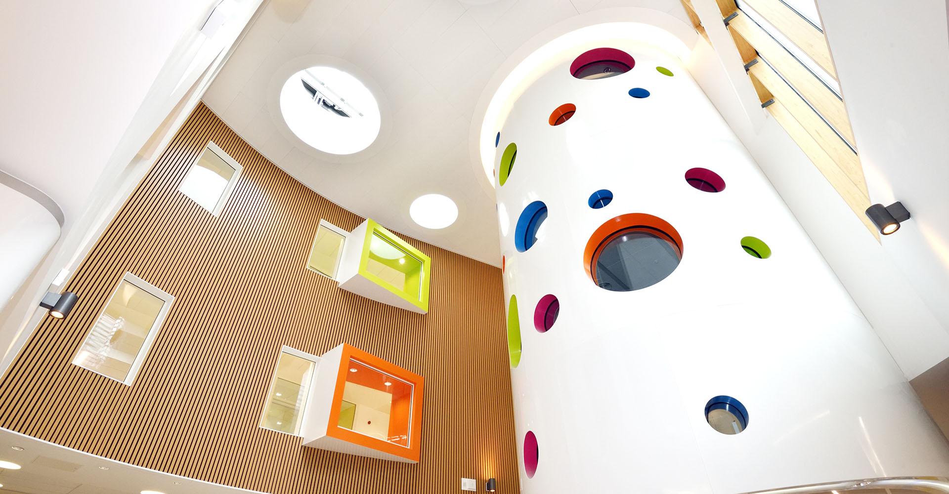Brightening the children's hospital visit