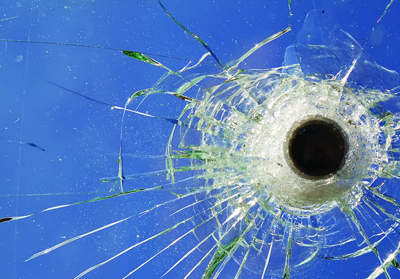 What is bullet-resisting glass?