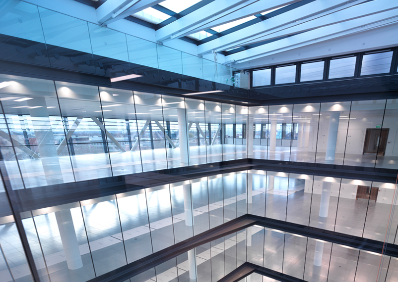 Landmark Glazing Installation at Forbury Place